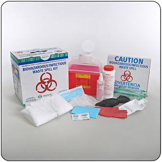 Large Biohazard Spill Kit