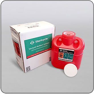 1.5 Gallon Mail-Back Sharps Disposal System