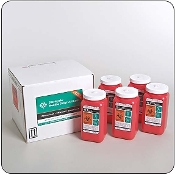 Five - 1.4 Quart Mail-Back Sharps Disposal Systems
