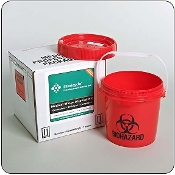 One Gallon Mail-Back Medical Waste Disposal System
