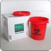 5 Gallon Mail-Back Medical Waste Disposal System